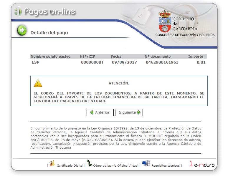 Oficina virtual agencia c ntabra de administraci n for Oficina virtual de la agencia tributaria